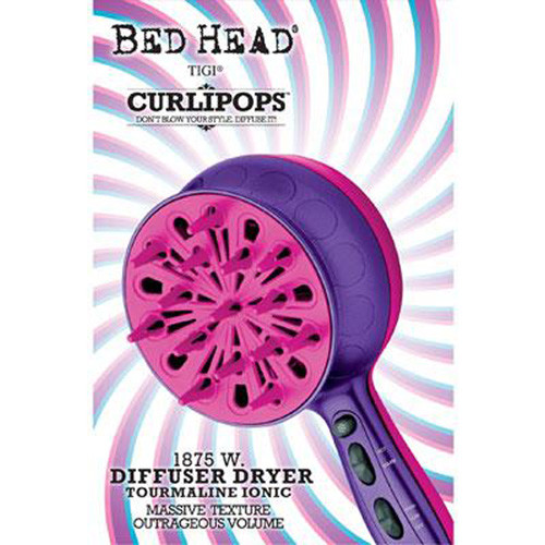 Bed Head Curlipops 1875 Watt Diffuser Dryer