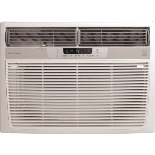 Frigidaire FRA186MT2 18,500 BTU Window-Mounted Median Air Conditioner with Temperature Sensing Remote (230 volts)