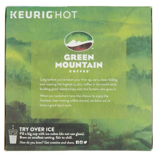 Keurig K-Cup Green Mountain Columbian Fair Trade Coffee, Regular, 18 Pack