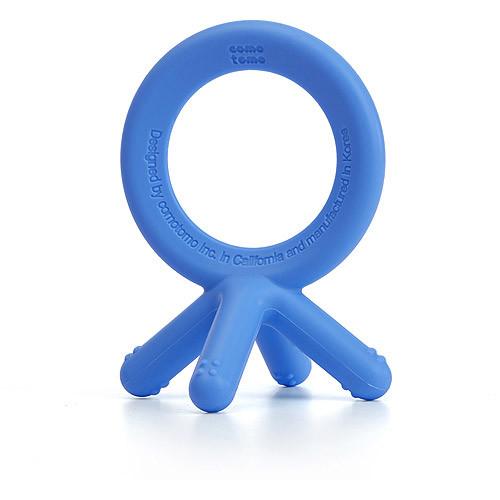 Comotomo Silicone Baby Teether, Blue [Blue]