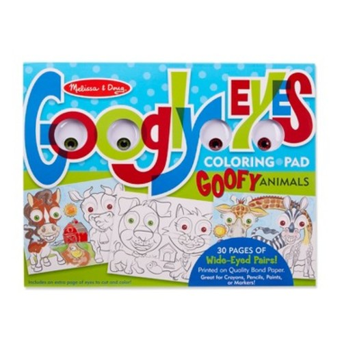 Melissa and Doug Googly Eye Coloring Pads