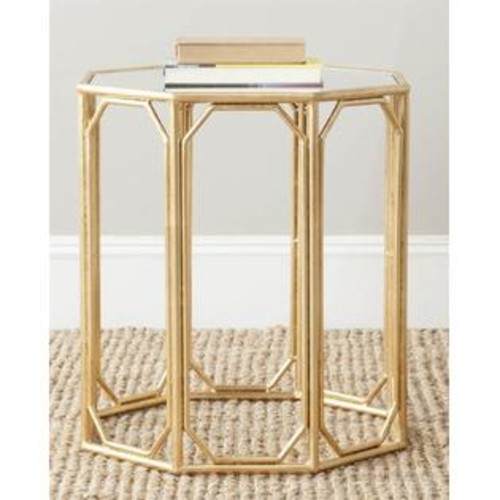 Safavieh Mirror Top Accent Table