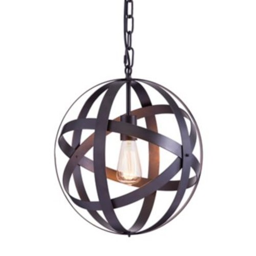 Zuo Modern Plymouth Ceiling Lamp Rust (WC98418)