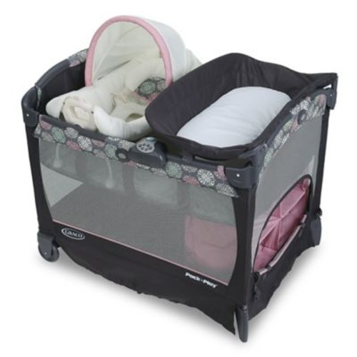 Graco Pack 'n Play Playard with Cuddle Cove Removable Rocking Seat in Addison