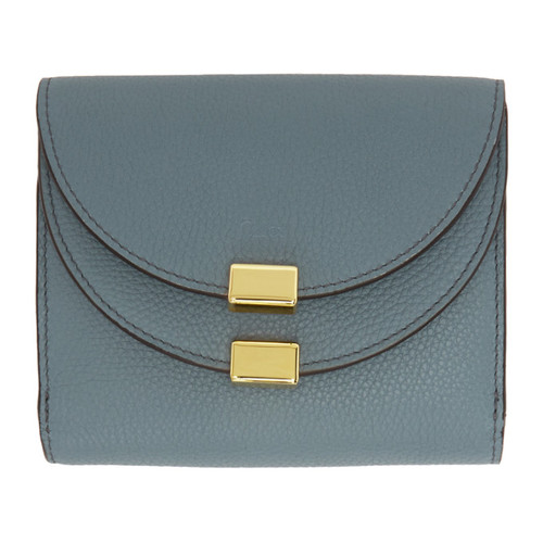 CHLOÉ Blue Square Georgia Wallet