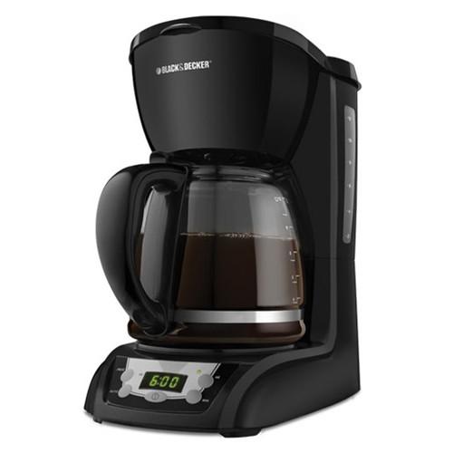 Black & Decker 12 Cup Programmable Coffee Maker - Black