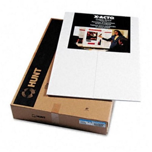 ELMERS Premium Display Board, Open: 48X36, Closed: 24X36, 12/Carton, White (902090)