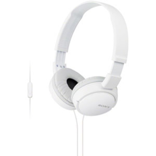 Sony Extra Bass On-Ear Smartphone Headset - White