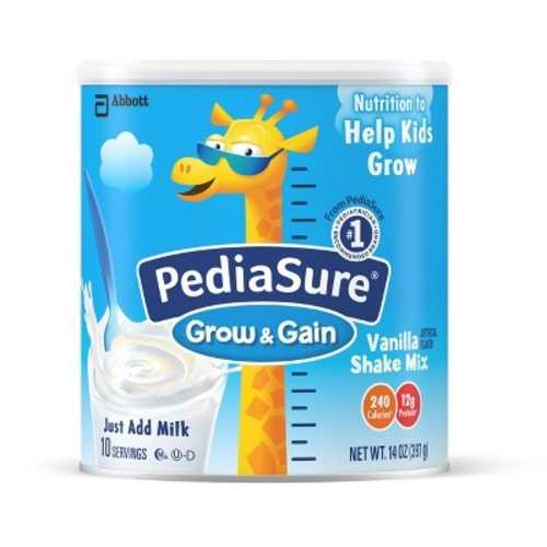 Pediasure Vanilla Shake Powder Formula - 14oz (6 Pack)
