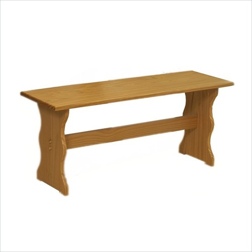 Linon - Linon Chelsea Kitchen Dining Nook Bench - Natural