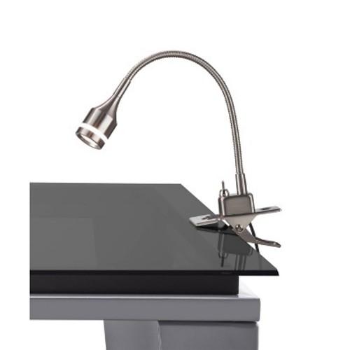 Adesso Prospect LED Clip Lamp - Silver
