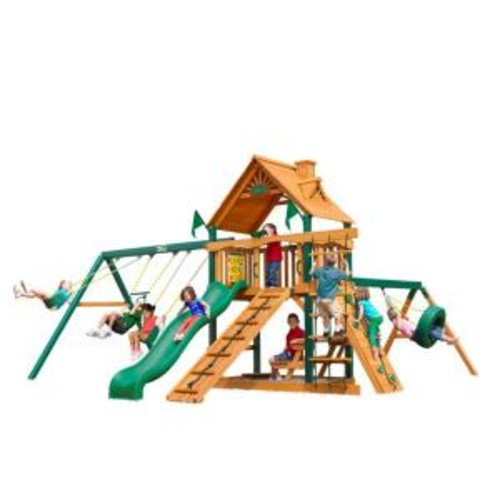 Gorilla Playsets Frontier with Timber Shield Cedar Playset