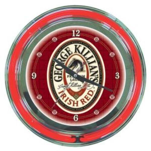 Trademark 14 in. George Killian's Neon Wall Clock