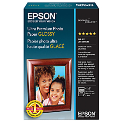 Epson Ultra Premium Glossy Photo Paper, 4