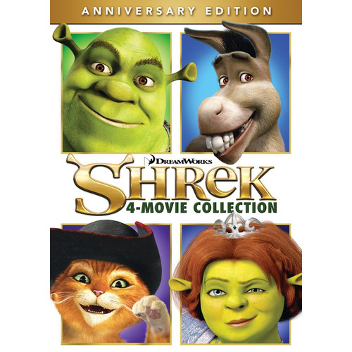 Shrek: 4 Movie Collection [DVD]
