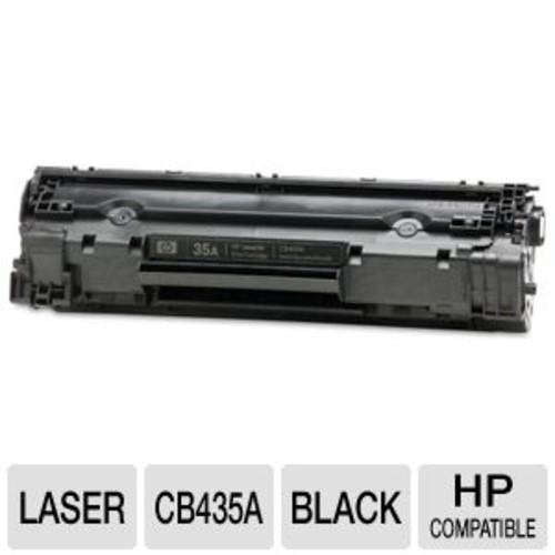 HP 35A, (CB435A) Black Original LaserJet Toner Cartridge