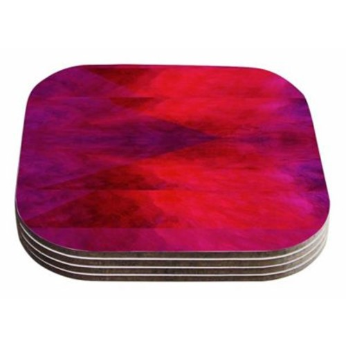 East Urban Home Suzanne Carter 'Block' Coaster (Set of 4)