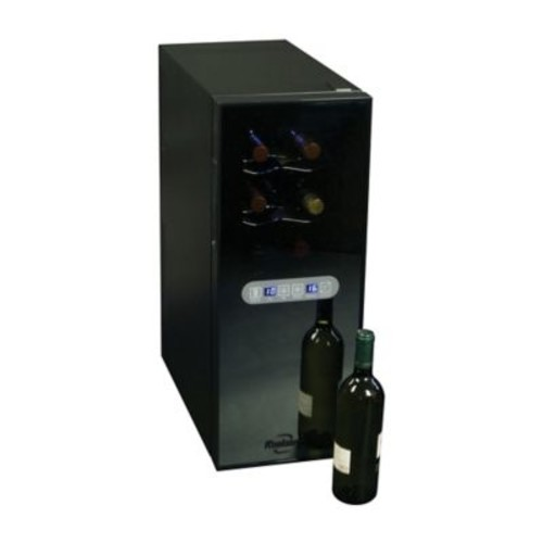Koolatron 12-Bottle Dual Zone Wine Cellar