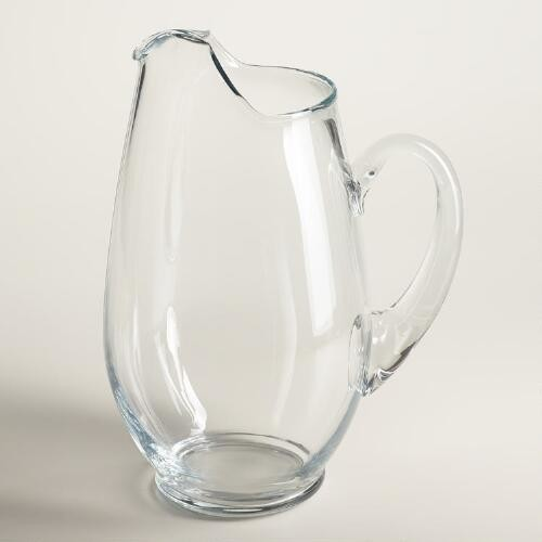 Mario Glass Pitcher