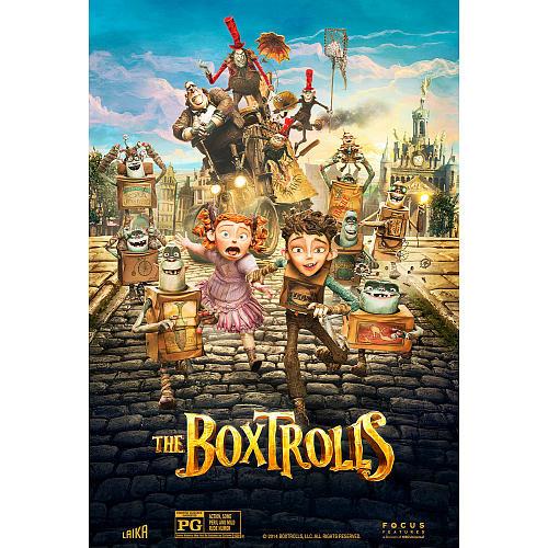 The Boxtrolls DVD