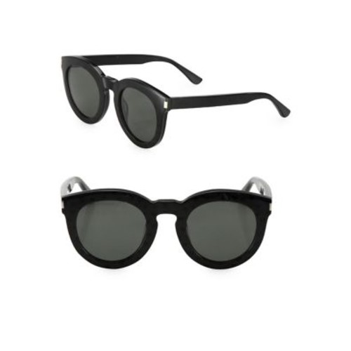 SAINT LAURENT Surf 47Mm Round Sunglasses