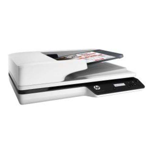 HP Scanjet Pro 3500 f1 - Document scanner - Duplex - 8.5 in x 122.05 in - 1200 dpi x 1200 dpi - up to 25 ppm (mono) / up to 25 ppm (color) - ADF (50 sheets) - up to 3000 scans per day - USB 3.0 - gove