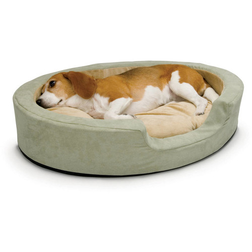K&H Pet Products Thermo-Snuggly Sleeper Heated Pet Bed - 6 watt MET Safety Listed [Medium (20
