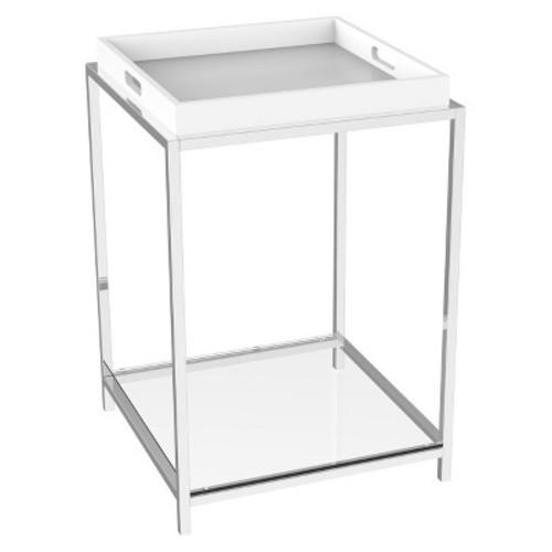 End Table White - Convenience Concepts
