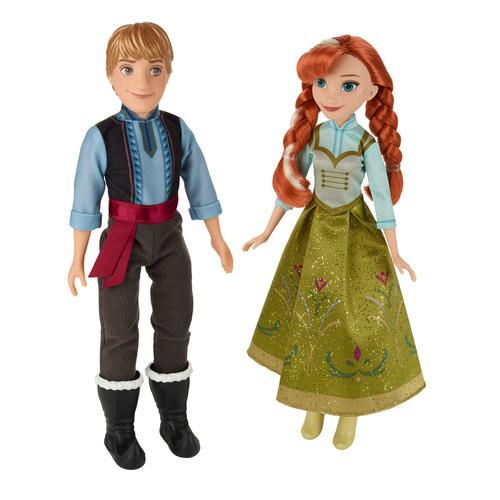 Hasbro Disney Frozen Anna & Kristoff 2-Pack
