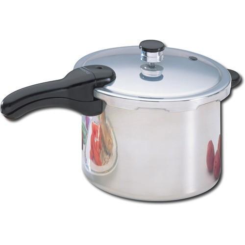 Presto 01264 6-Quart Aluminum Pressure Cooker [6 qt]