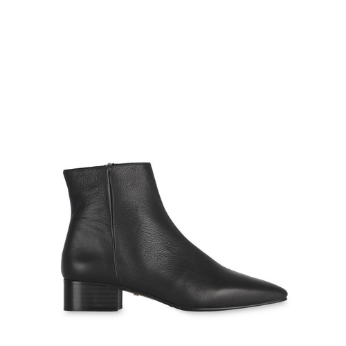 WHISTLES Women'S Berwick Leather Pointed Toe Booties