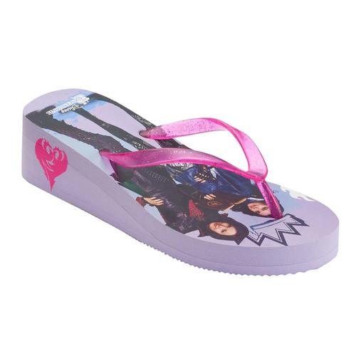 Disney's Descendants Mal & Evie Girls 4-16 Flip Flops