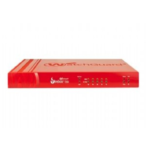 WatchGuard Firebox T30 - Security appliance - with 1 year Security Suite - 5 ports - 10Mb LAN, 100Mb LAN, GigE