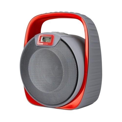 Memorex - MW601RD FlexBeats Bluetooth H2O Extreme Portable Wireless Speaker - Red
