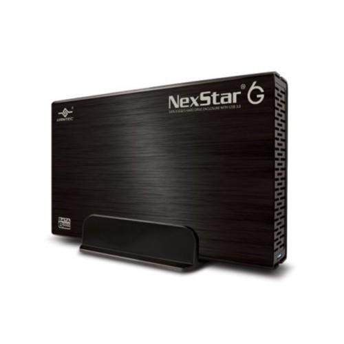 Vantec NST-366S3-BK Vantec NexStar 6G NST-366S3-BK Drive Enclosure External - Black - 1 x Total Bay - 1 x 3.5