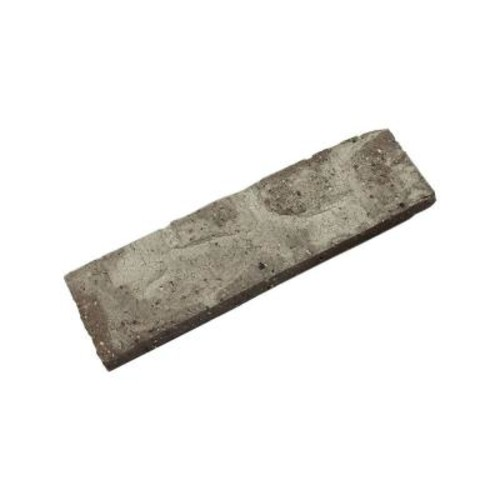 Mill Brick Little Cottonwood 7.625 in. x 2.25 in. x 0.5 in. Genuine Clay Thin Brick Sample (3-Piece)