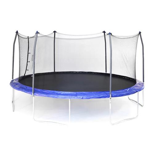 Skywalker Trampolines Blue 17' Oval Trampoline with Enclosure