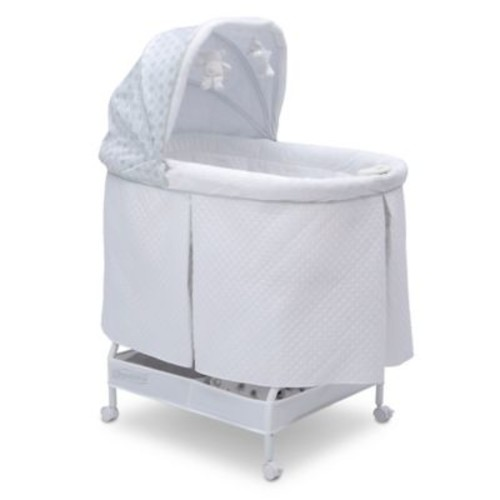 Beautyrest Silent Auto Gliding Lux Bassinet in Arcadia