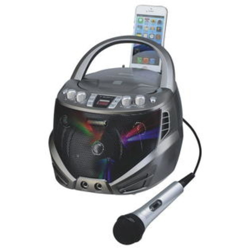 KARAOKE (Price/each)Portable Cdg Karaoke Player With Led Lights