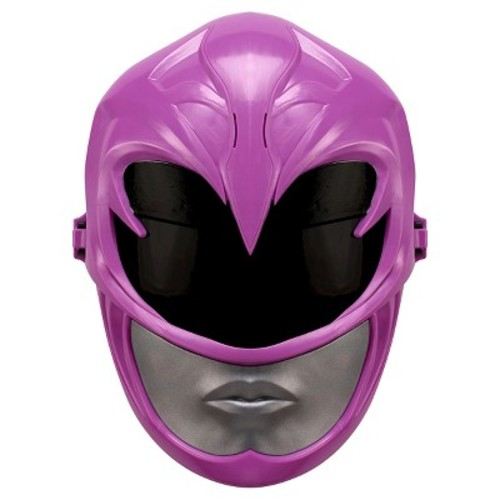 Power Rangers Movie Pink Ranger Sound Effects Mask