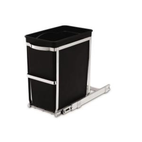 simplehuman 30-Liter Commercial-Grade Under-Counter Pull-Out Trash Can