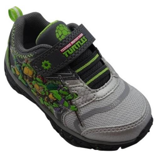 Teenage Mutant Ninja Turtles Toddler Boys' Athletic Sneakers - Gray