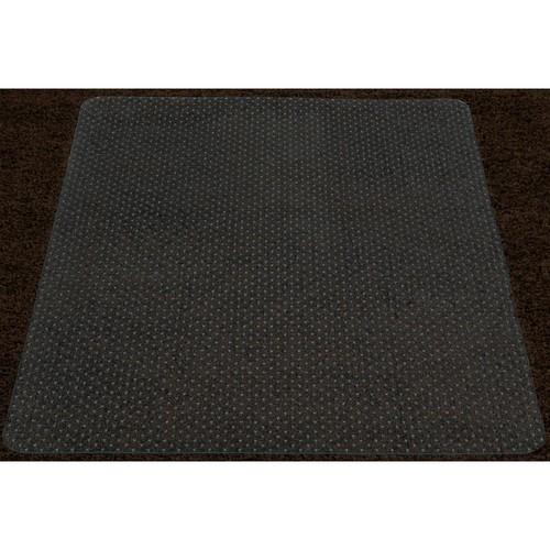 Ottomanson Super Grip Clear 36 in. x 48 in. Vinyl Carpet Chair Mat