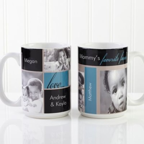My Favorite Faces Photo 15 oz. Coffee Mug