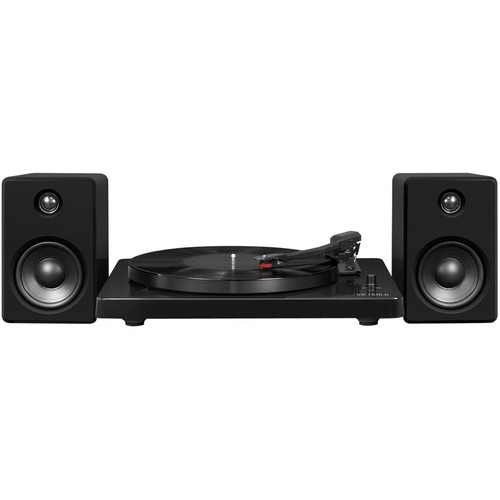 Victrola - Bluetooth Stereo Audio system - High-Gloss Black