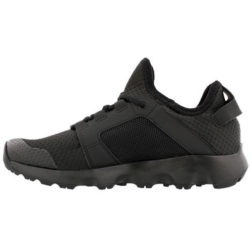ADIDAS Womens Terrex Voyager DLX Hiking Shoes, Black/Black/Grey Five