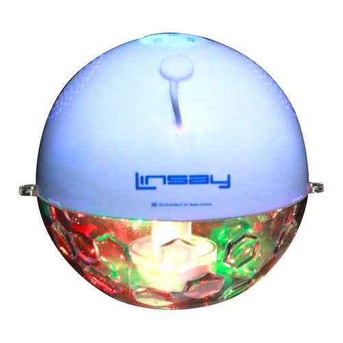 LINSAY NEW SLP_1X Pool Party Waterproof Bluetooth Speaker with LED Light Show