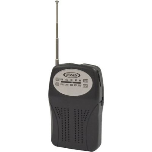Jensen 77283927508 Am/fm Pocket Radio