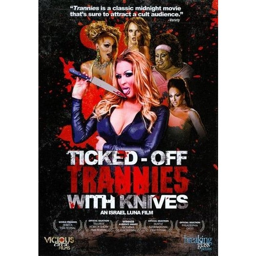 Ticked-Off Trannies with Knives [DVD] [2010]