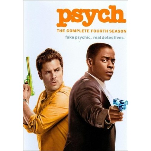 Psych: The Complete Fourth Season (4 Discs) (dvd_video)